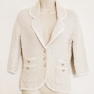 WHBM Sweater Blazer